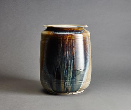 , 'Jar, spruce ash celadon glaze,' , Pucker Gallery