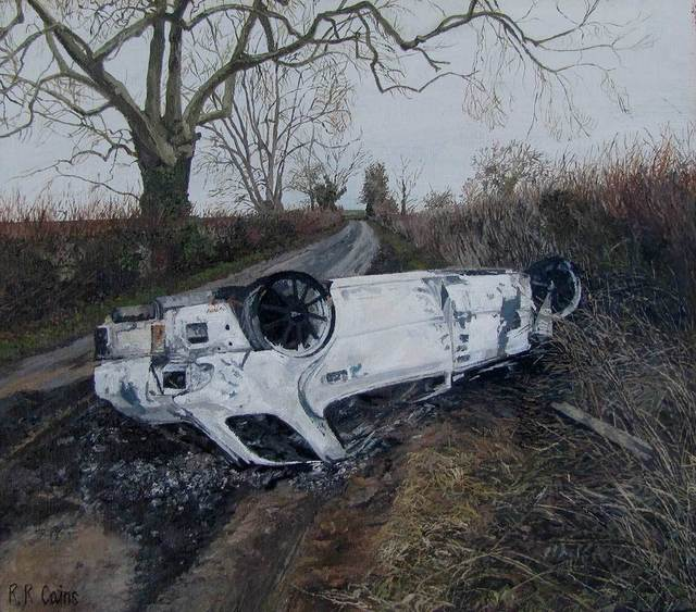 , 'Car Rollover,' , Mall Galleries