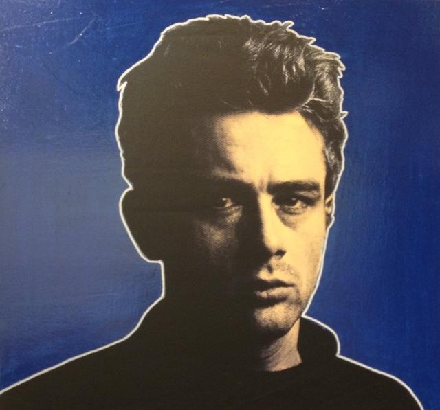 , 'James Dean Blue Background,' 2003, Barbara Frigerio Contemporary