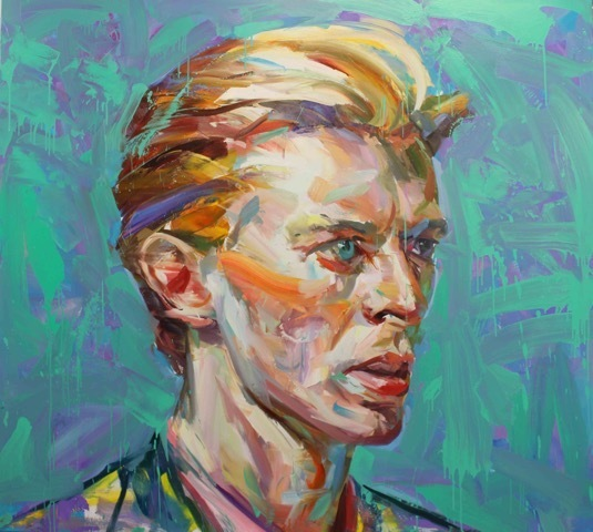 Paul Wright, 'Green Bowie ', 2017, Maddox Gallery