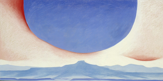 , 'Pedernal,' 1945, Tate Modern