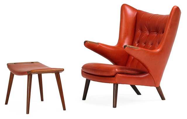 """, '""""Papa Bear"""" Chair ,' , Lost City Arts"""