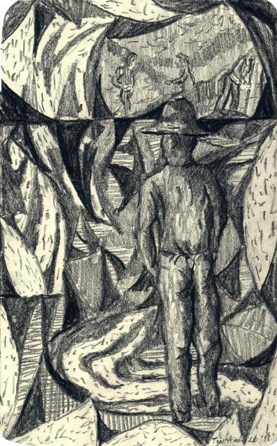 Tom Anholt, 'Man Mining (Study)', 2018, Hakgojae Gallery