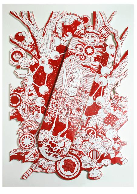 , 'Visionary,' 2012, Micheko Galerie