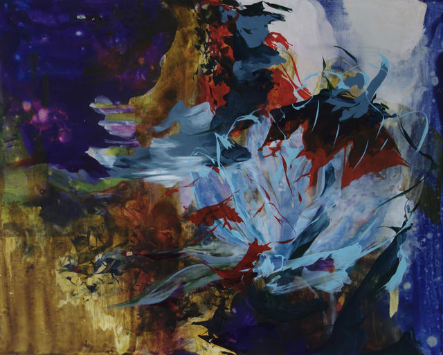 , 'Dream of the Blind Gentian,' 2018, Linda Warren Projects