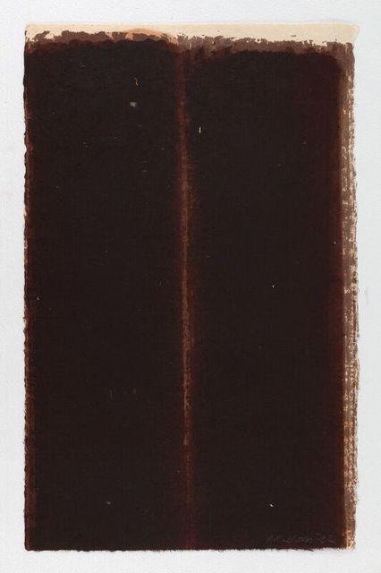, 'Burnt Umber & Ultramarine,' 1992, Simon Lee Gallery