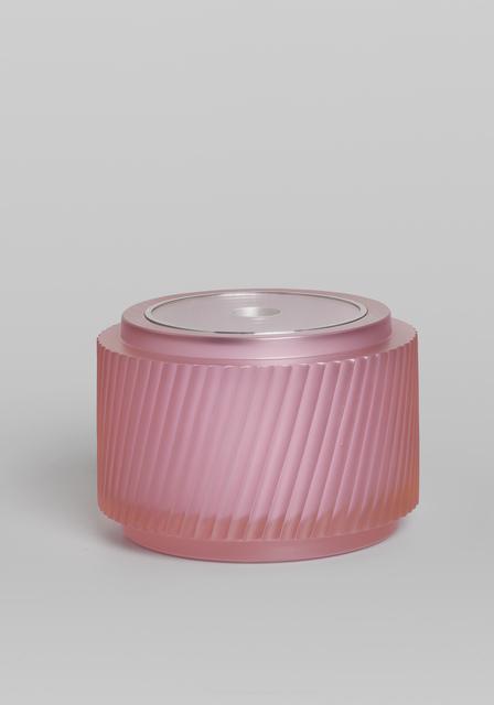 , 'Pink lidded vessel,' 2019, von Bartha