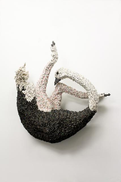 , 'Falling Ostrich,' 2015, Mark Hachem Gallery