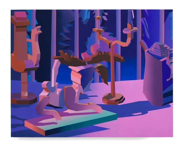 , 'Virtual Characters, Domestic Landscape II,' 2017, The Hole