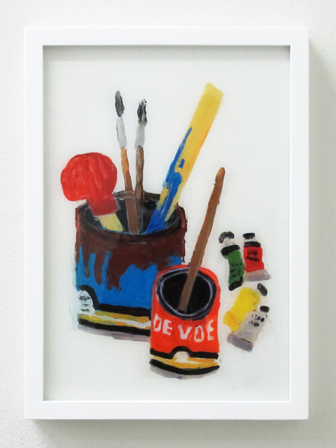 , 'Still Life With Bottle And Paint Tubes,' 2016, V1 Gallery