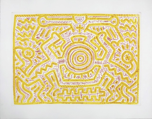 Keith Haring, 'Untitled (A)', 1985, Hamilton-Selway Fine Art