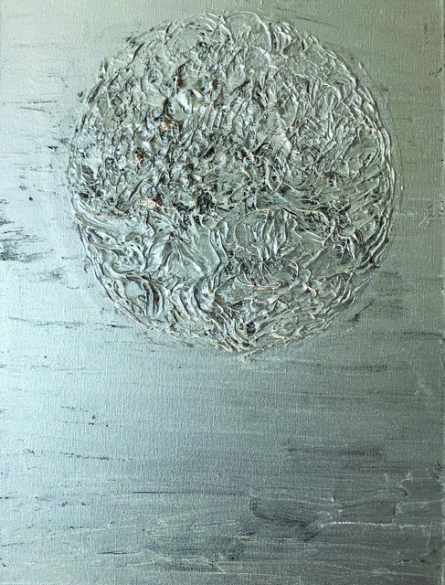 Masumi Sakagami, 'Luna', 2018, Painting, Acrylic Organic Pigments, Walter Wickiser Gallery