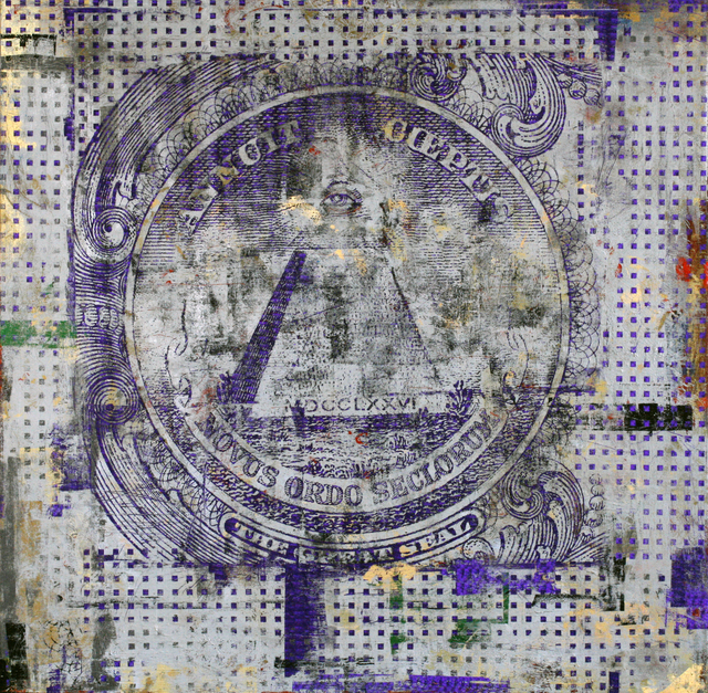 Houben R.T., '1 Dollar, The Great Seal ', 2014, New Gallery of Modern Art
