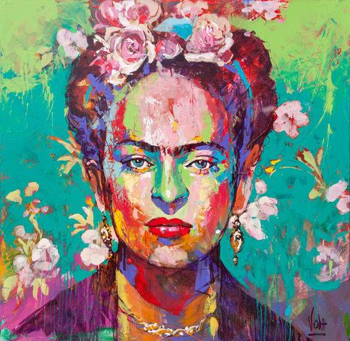 Voka, 'Frida', 2019, ArtCatto