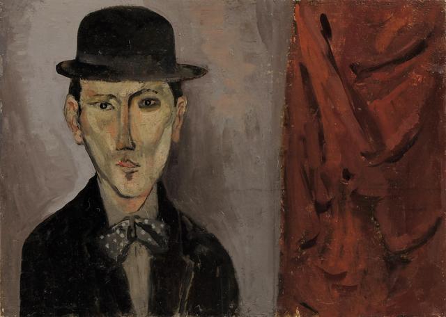 , 'Man in Bowler Hat,' 2018, Sladers Yard