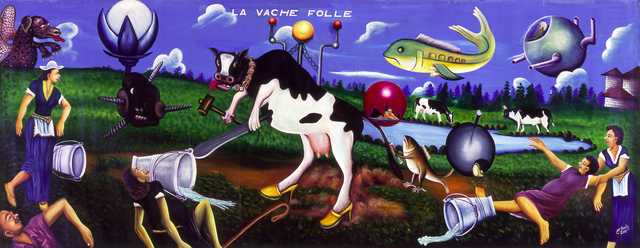 Pierre Bodo, 'La Vache Folle', 2001, CAAC The Pigozzi Collection
