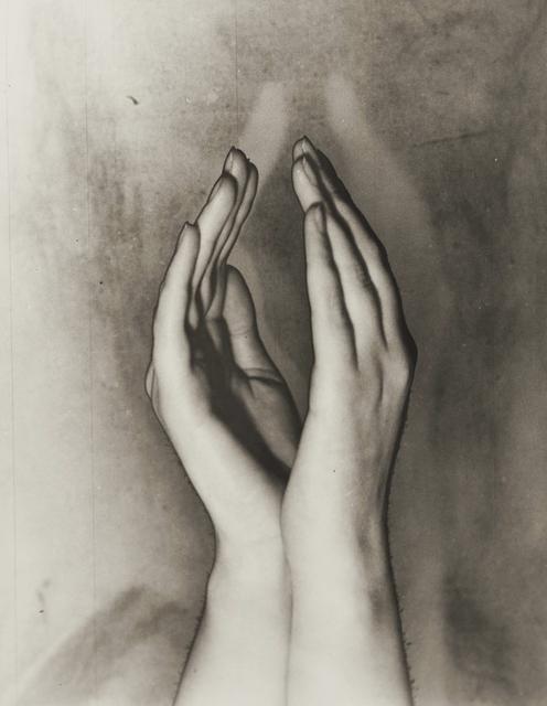 , 'Solarised hands, Amsterdam,' ca. 1933, Corkin Gallery