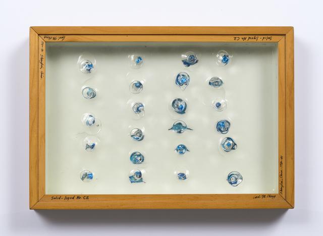 , 'Liquid/Solid Series: Solid - liquid No. C2,' 1980, Philip Martin Gallery