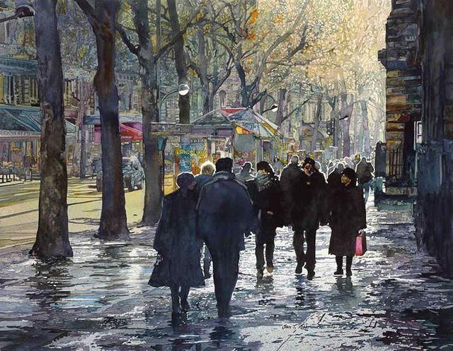 , 'December Light, Paris,' , Stremmel Gallery