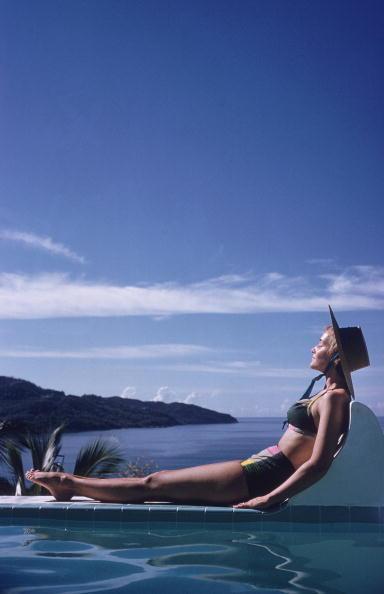 Slim Aarons, 'Between the Sea and Sky', 1960, IFAC Arts