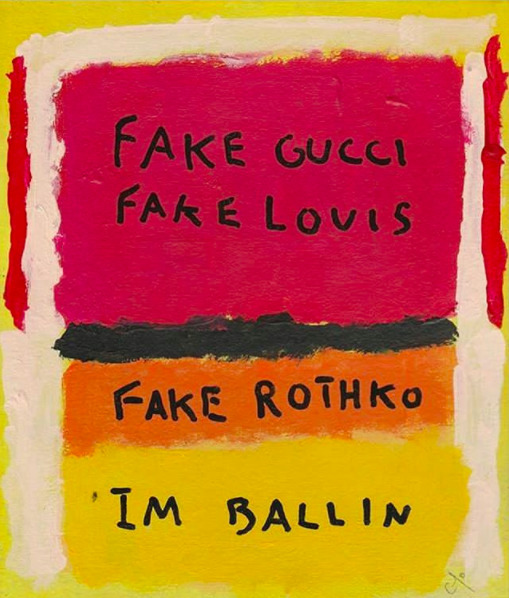 , 'Fake Gucci, Fake Louis, Fake Rothko,' 2017, Imitate Modern