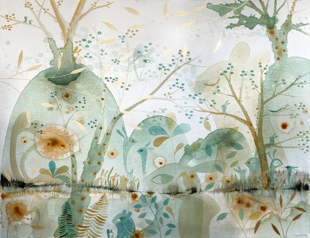 , 'Turquoise Water,' 2015, GALERIA JORDI BARNADAS