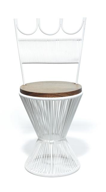 , 'Queen Chair - White,' 2016, kinder MODERN