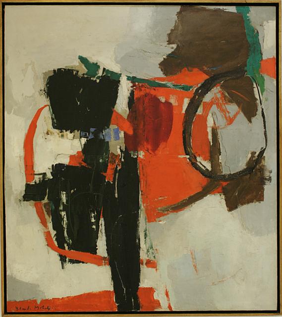 , 'Composição preto e vermelho,' , Dan Galeria