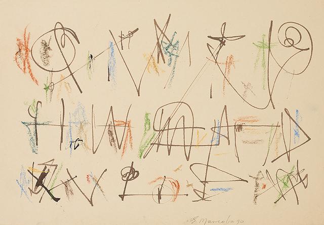 , 'untitled,' 1990, Galerie Mikael Andersen
