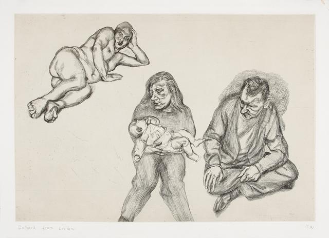 , 'Four Figures,' 1991, Galerie Boisseree