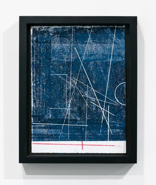 , 'every measure of zero (cancha de nazca),' 2018, Upfor