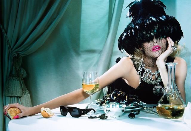 Miles Aldridge, 'The pure wonder # 2 ; Cabaret # 4 from th Portfolio Carousel', 2005 -2006, Photography, Two silkscreen prints, printed in 2013, Finarte