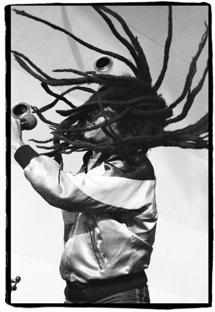David Corio, 'Bob Marley, Last London show, Crystal Palace Bowl, London, UK', 1980, Photography, Silver Gelatin, hand printed by David Corio, ElliottHalls