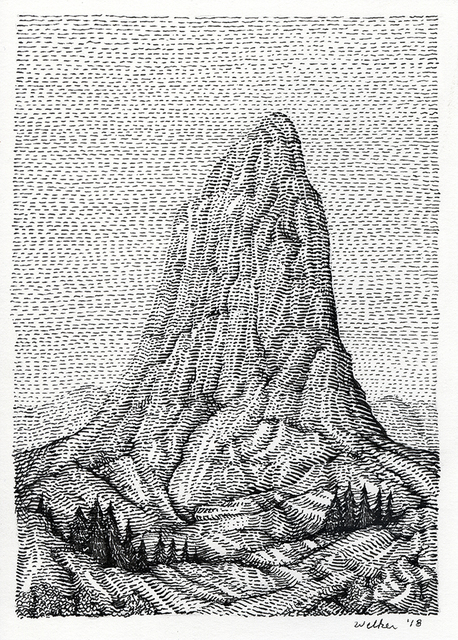 , 'The Butte,' 2018, Spoke Art