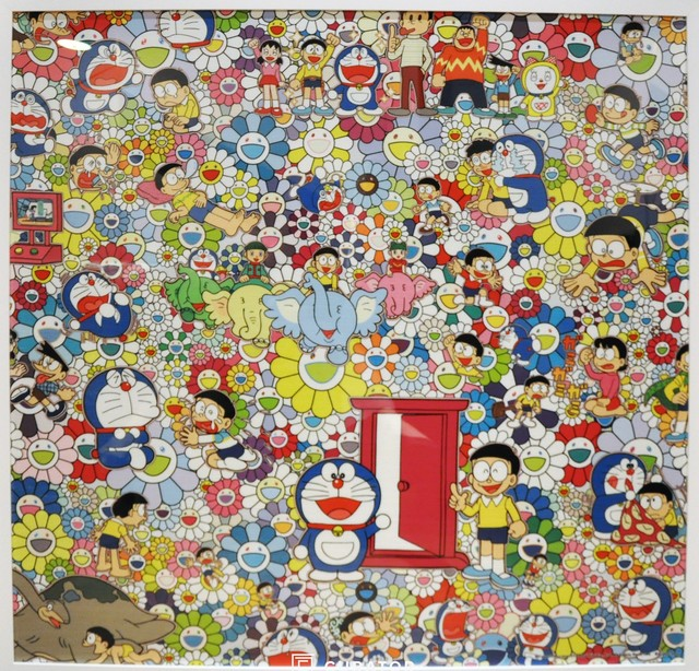 Takashi Murakami, 'Takashi Murakami x Doraemon Framed Print (Tokyo Exclusive)', 2017, Print, Polyester, Curator Style
