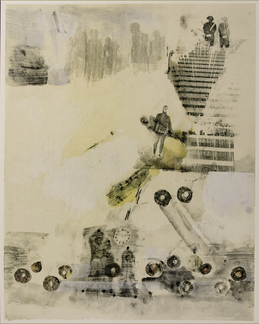 Robert Rauschenberg, 'Dante's Inferno - Canto XXIII, The Hypocrites, a Lithograph by Robert Rauschenberg', 2017, White Cross