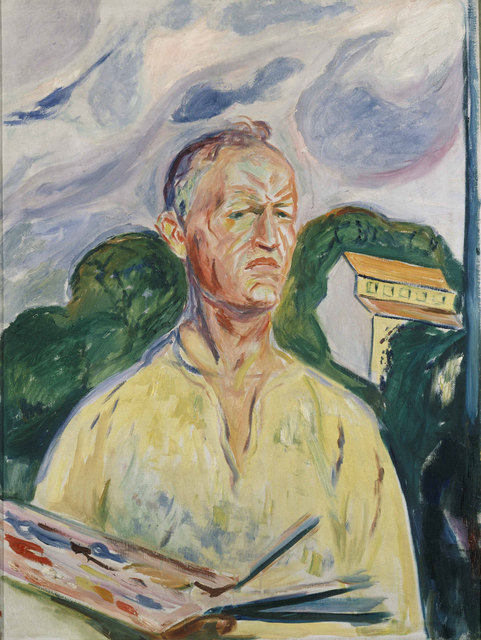 , 'Self-Portrait with Palette,' 1926, Van Gogh Museum