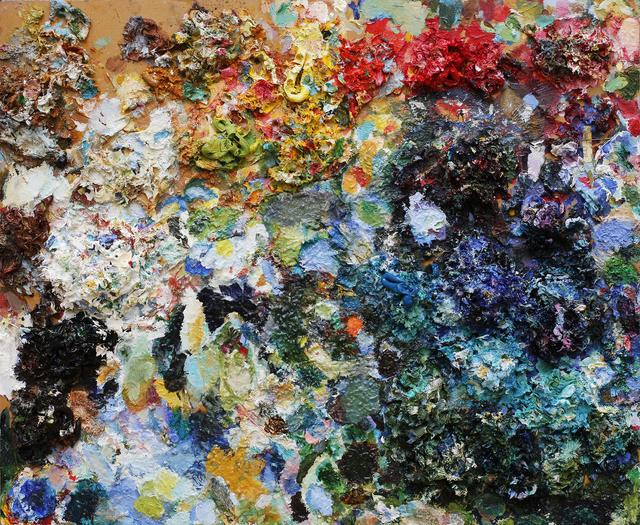 , 'Paint Palette (2001-2005),' 2001-2005, Newzones