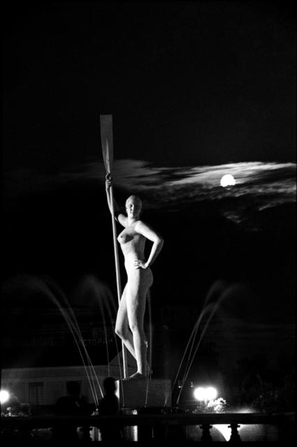 , 'Central Gorky park. Girl with a paddle,' 1930, Lumiere Brothers Gallery