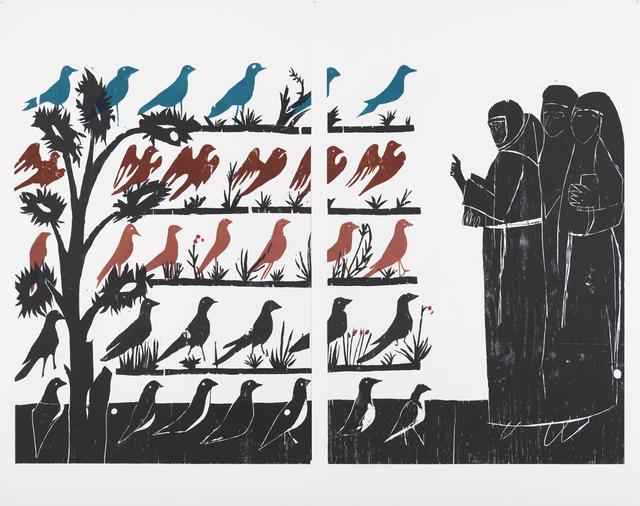 , 'Vogelpredigt,' 2010, Collezione Maramotti