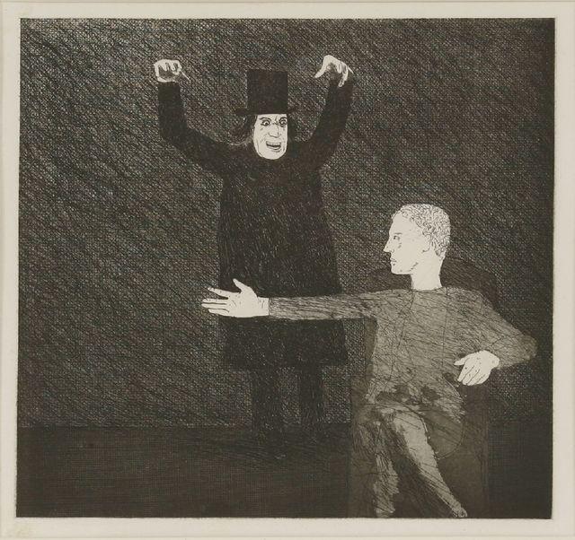 David Hockney, 'Inside the Castle (Tokyo 93)', 1969, Sworders