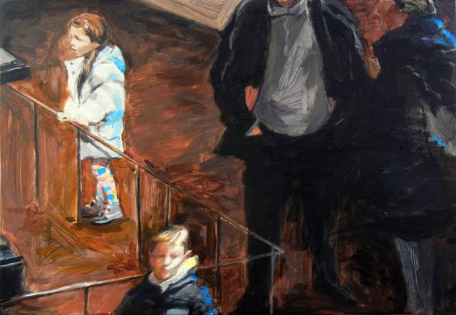 , 'Les visiteurs (No 1),' 2016, Lange + Pult