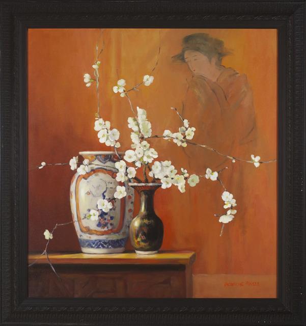 , 'Amari Vase and White Japonica,' , Wentworth Galleries