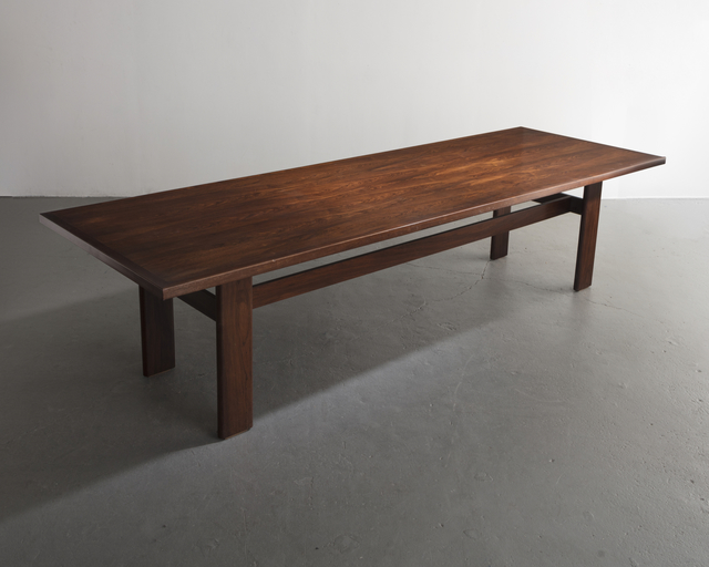 , 'Dining table in jacaranda,' ca. 1960, R & Company