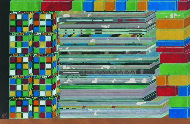 , 'Puzzle No.6,' 2018, HDM Gallery