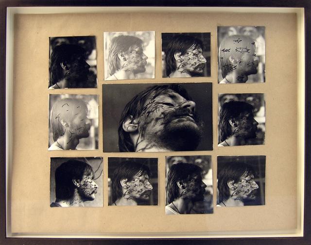 , 'Collage from the Fish-Eye series,' 1988, Galerija Gregor Podnar