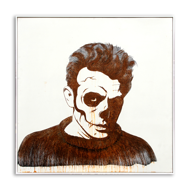 , 'James Dean (Rusted),' 2014, StolenSpace Gallery