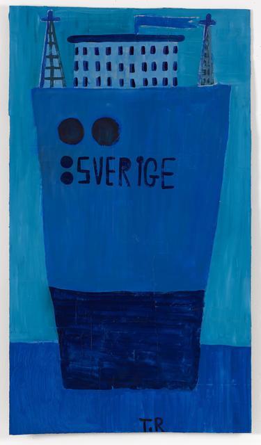 , ': et skib kaldt Sverige,' 2017, Galleri Bo Bjerggaard
