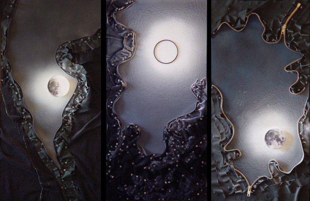 , 'Moonrise Rift Triptych #1,' 2015, Fusion Art