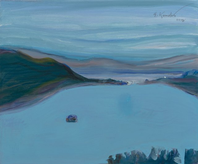 Gregory Kondos, 'Emeral Bay', 2018, Heritage Auctions
